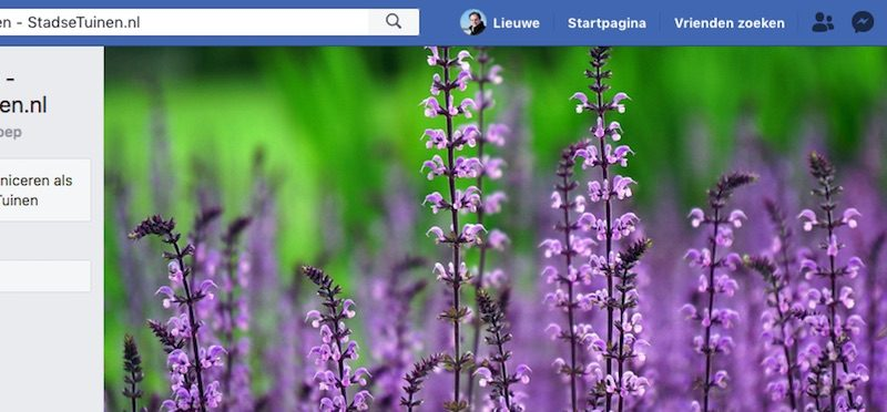 Onze eigen Facebook Groep - Tuinvragen